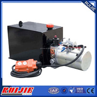 Alibaba China small 12 volt hydraulic power unit for tipper trailer 2