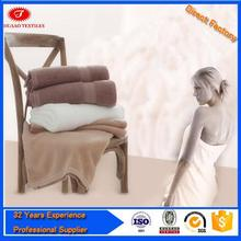 Brand new 100% cotton terry towel blanket for promotion