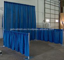 2012 most popular pipe and drape for wedding and events