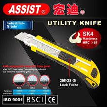 ASSIST safety multi-funcational 18mm cutter MID/CE/ISO9001 passed