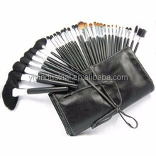 Brand name 32pcs makeup brush set China beauty kits Professional cosmetic brushes