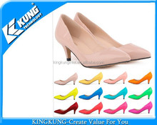 2015 latest Leather Ladies High Heels, Stiletto heels High Heel Shoes for Women