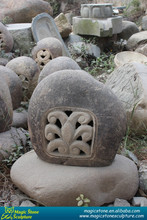 New Design Japanese Large Stone Lanterns Garden Decoration Items for Sale