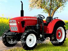 Potente y flexible 40HP 4 x 4 cabina mini tractores agrícolas