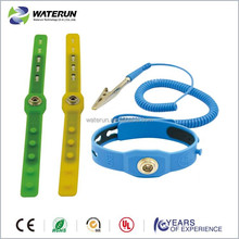 Powder Free Cleanroom Silicon Wrist Strap manufacturer