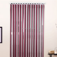 100% polyester HANAS BLIND lastest vertical sheer blind