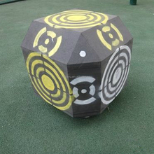 China direct supplier archery target, 3D foam archery target, cube Bow Shooting, environmentally material soft arrow target