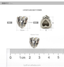 HE shape Decorative Strass Crystal Rhinestone manufacturer with claw setting