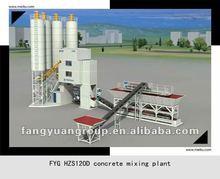 FangYuanGroup ready-mixed HZS120D concrete mixing plant