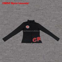 Spandex fleece wholesale track jacket custom