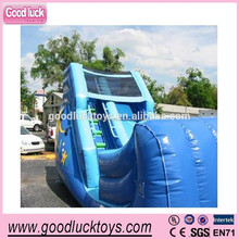 2014 Hot Inflatable Zip Line, Inflatable Slide Combo Games for Sale