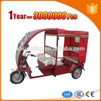 Tanzania e trike for passengers with durable cargo box