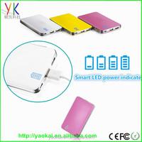 2015 New design 8800mah japan battery cells power bank