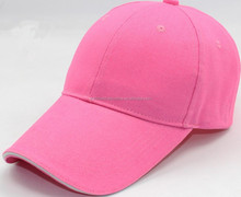 blank 6 panel baseball cap with long bill ,custom cheap cotton team/advertising /promotional cap and hat