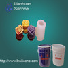 liquid rubber rtv silicone for making decorative candle molds