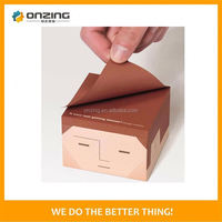 Onzing good quality custom made paper tea packing cube box design