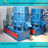 Plastic film agglomerate machie recycle plastic granulator machine