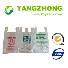 Trustworthy china supplier plastic shopping bag with soft loop