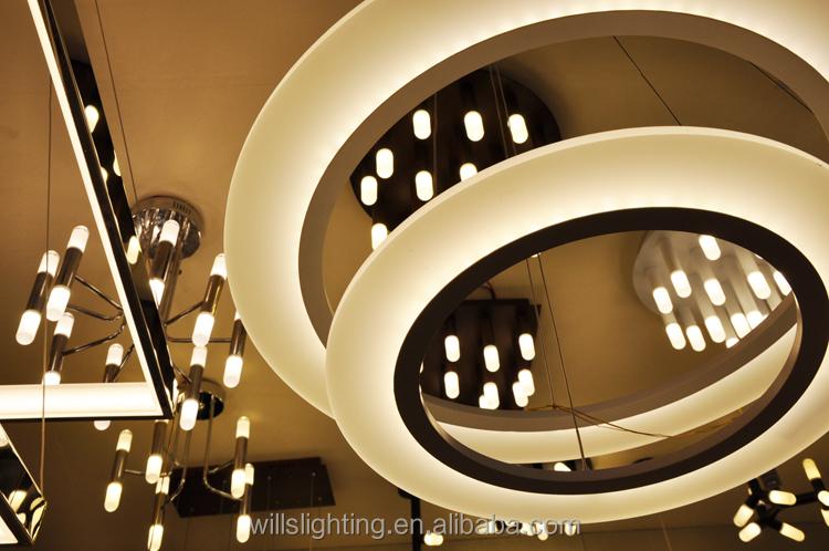 Fancy Led Contemporary Indoor Decorative Ceiling Suspended Lights