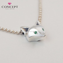 Hot New Products for 2015 Custom 2 Tones Gold Fox Pendant
