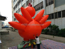 New Commercial inflatable cartoon characters turkey 20ft or 6m advertising product