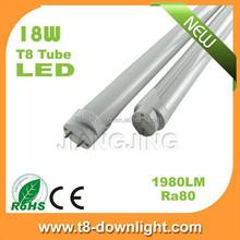 High lumen 4ft 1200mm SMD2835 T5 / T8 single tube light