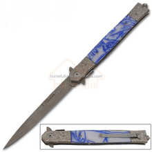 13 Inch quality resin handle damascus steel pocket outdoor multi survival knife