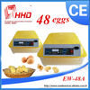 Automatic Egg Turning For Hatching 48 Eggs Mini poultry incubator machine price for Sale/Chicken Incubator