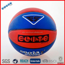 8 Panels Laminated pvc nice blue basketball
