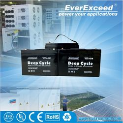 Hot sell Solar/Photovoltaic/water pump Lead acid battery recharge 12 volts
