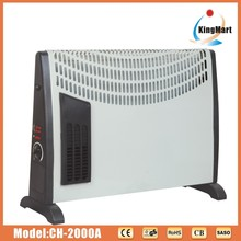 Convector heater black for home use