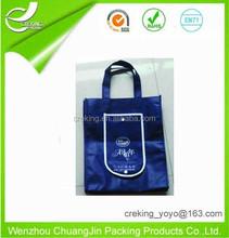 non woven bag//long handle shopping bag