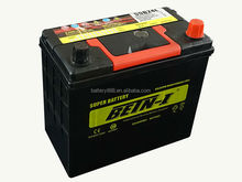 maintenance free car battery 12v 55AH