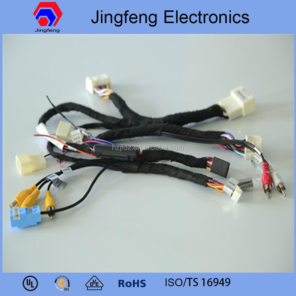 Automotive Wiring Harness Assembly : Automotive wiring harness cable assemblies for toyota prado