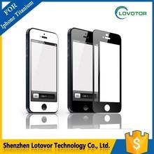 full cover Titanium super quality Supershieldz Screen Protector For Iphone 4 5 6