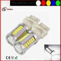 New led lighting 12V/24V high power 3157 T25 led brake light 33 SMD 5630 for car auto motor truck