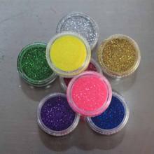 glitter powder Needle type glitter,solvent resistant glitter dots
