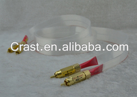 Nordost Red Dawn Silver RCA interconnect with Gold KingSnake RCA Connector cable