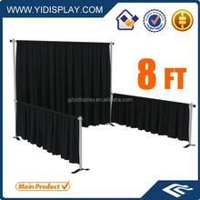 Portable pipe and drape for wedding party trade show pipe and drape