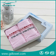 Wholesale custom embroidered cotton promotional face towel