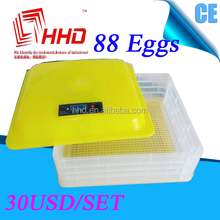 Full automatic breed chicken/duck/goose egg hatching machine/small incubator egg hatching machine