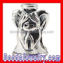 2015 Spring Antique European Sterling Silver Angel Charm Beads