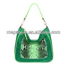 China Wholesale Snakeskin Hobo Women Fashion Handbag