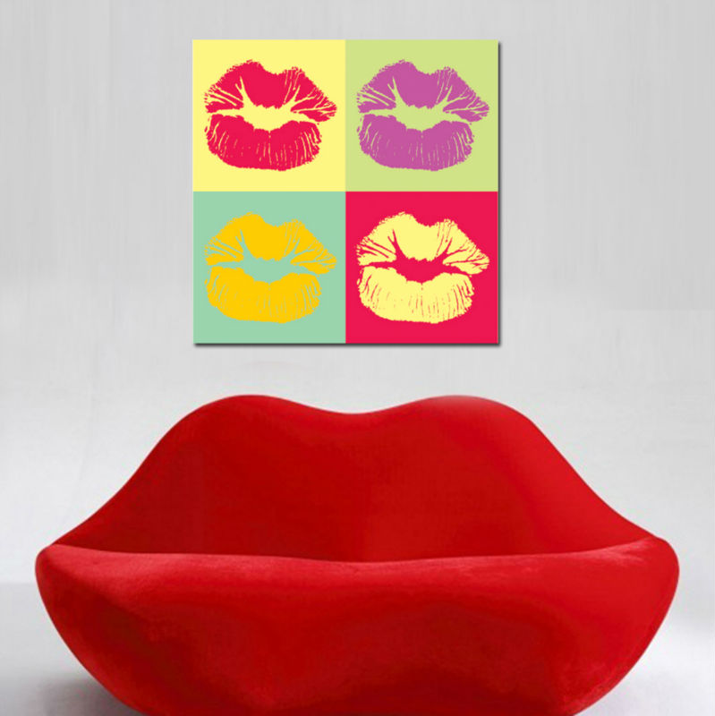 Hot Lips Pop Art Fashion Designers Buy Pop Art Fashion