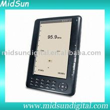 10 inch color mid electronic address book with WIFI reader FM function and 3G optional