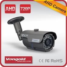 Vangold camera AHD 1.0/ 1.3/ 2.0 Megapixel CCTV Security Camera with 24pcs powerful IR led Color image at night