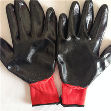 nitrile coated work glove