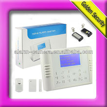 Newest 4-language gsm home alarm system welcom OEM languages translation