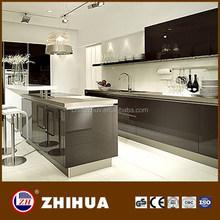 Modern high gloss kitchen cabinet