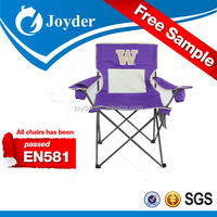 camping chair folded printing folding quad camping chair for adult
